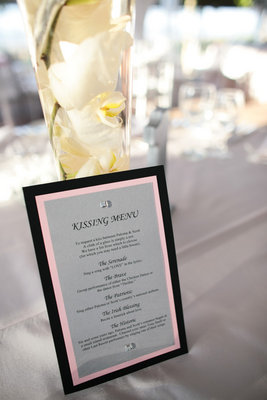 Menu Cards, West Coast Real Weddings, Vineyard Weddings