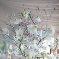 Flowers & Decor, Real Weddings, white, Centerpieces, West Coast Real Weddings, Glam Wedding Flowers & Decor