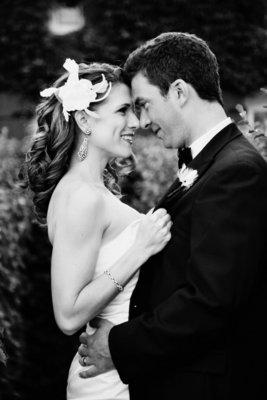 Beauty, Real Weddings, Wedding Style, Wavy Hair, Long Hair, Hairpin, Feathers, West Coast Real Weddings, Classic Real Weddings, Classic Weddings, West Coast Weddings