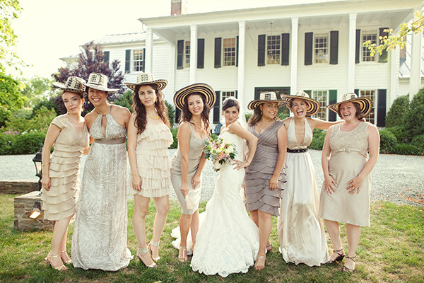 Bridesmaid Dresses, Fashion, Real Weddings, Wedding Style, Southern Real Weddings, Spring Weddings, Garden Real Weddings, Spring Real Weddings, Garden Weddings, Tan
