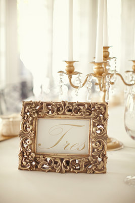 Flowers & Decor, Stationery, Real Weddings, Wedding Style, gold, Table Numbers, Southern Real Weddings, Spring Weddings, Garden Real Weddings, Spring Real Weddings, Garden Weddings, Vintage Wedding Flowers & Decor, vint