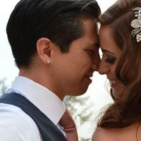 Real Weddings, Destination, Couple, Glamorous, Headpiece, Formal, Dramatic, florida real weddings, florida weddings