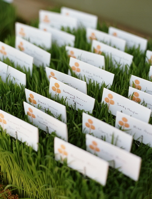 Stationery, Real Weddings, Wedding Style, Escort Cards, Summer Weddings, West Coast Real Weddings, Summer Real Weddings