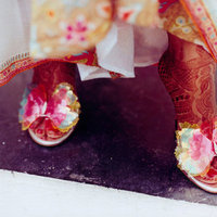 Beauty, Real Weddings, pink, red, Makeup, Summer Real Weddings, indian real weddings, indian weddings