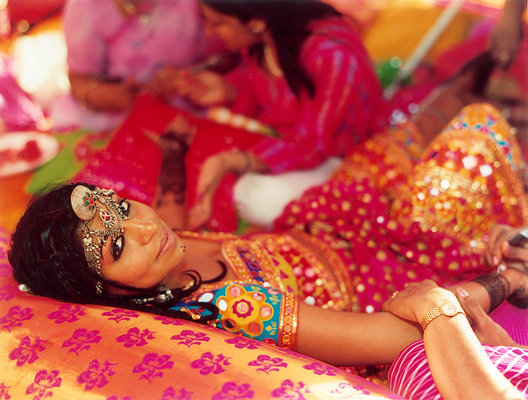 Beauty, Real Weddings, orange, pink, Makeup, Summer Real Weddings, indian real weddings, indian weddings