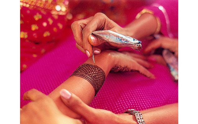 Beauty, Real Weddings, orange, pink, Makeup, Summer Real Weddings, indian real weddings, indian weddings