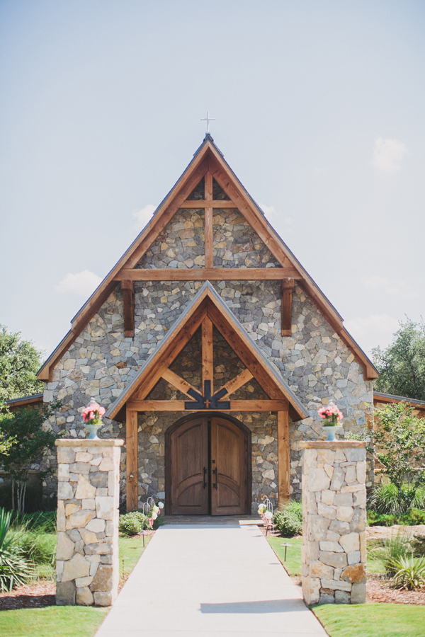 Flowers & Decor, Real Weddings, Wedding Style, Ceremony Flowers, Rustic Real Weddings, Southern Real Weddings, Spring Weddings, Spring Real Weddings, Rustic Weddings, Chapel, Stone