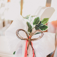 Flowers & Decor, Real Weddings, Wedding Style, red, Ceremony Flowers, Aisle Decor, Southern Real Weddings, Spring Weddings, Spring Real Weddings, Rustic Wedding Flowers & Decor