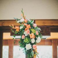 Flowers & Decor, Real Weddings, Wedding Style, Ceremony Flowers, Southern Real Weddings, Spring Weddings, Spring Real Weddings, Spring Wedding Flowers & Decor, Pastel
