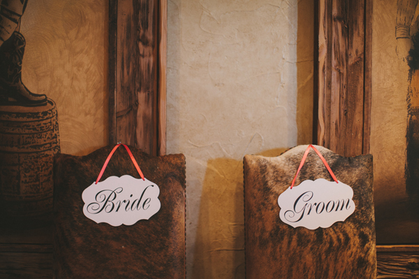 Flowers & Decor, Real Weddings, Wedding Style, Southern Real Weddings, Spring Weddings, Spring Real Weddings, Rustic Wedding Flowers & Decor, Chair decor, Wedding signs