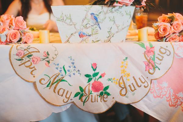 Flowers & Decor, Real Weddings, Wedding Style, pink, Southern Real Weddings, Spring Weddings, Spring Real Weddings, Vintage Wedding Flowers & Decor, Pastel