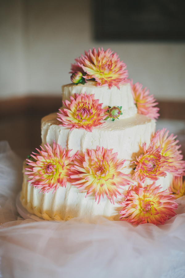 Cakes, Real Weddings, Wedding Style, orange, Floral Wedding Cakes, Wedding Cakes, Southern Real Weddings, Spring Weddings, Spring Real Weddings