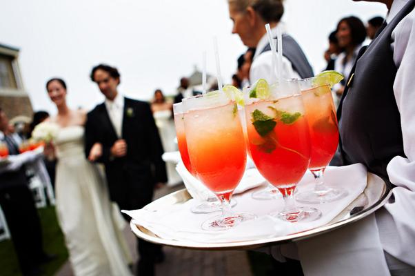 Real Weddings, orange, West Coast Real Weddings, Classic Real Weddings, Classic Weddings, Food & Drink