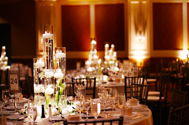 Real Weddings, white, Tables & Seating, Candles, West Coast Real Weddings, Classic Real Weddings, Classic Weddings, Classic Wedding Flowers & Decor