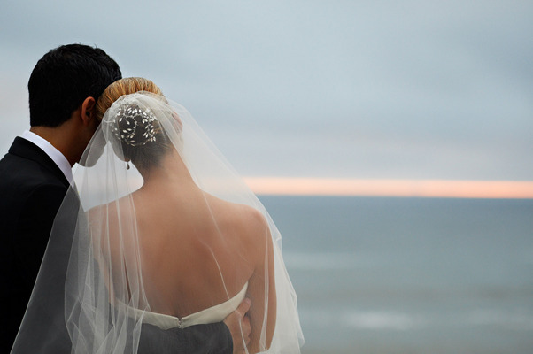 Veils, Fashion, Real Weddings, West Coast Real Weddings, Classic Real Weddings, Classic Weddings