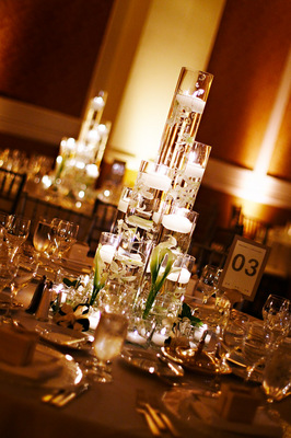 Real Weddings, Centerpieces, Candles, West Coast Real Weddings, Classic Real Weddings, Classic Weddings
