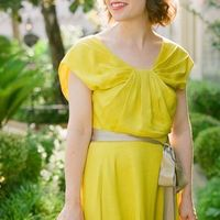 Bridesmaids Dresses, Bridesmaid Dresses, Fashion, Real Weddings, yellow, Southern Real Weddings, Classic Real Weddings, Summer Real Weddings, Classic Weddings