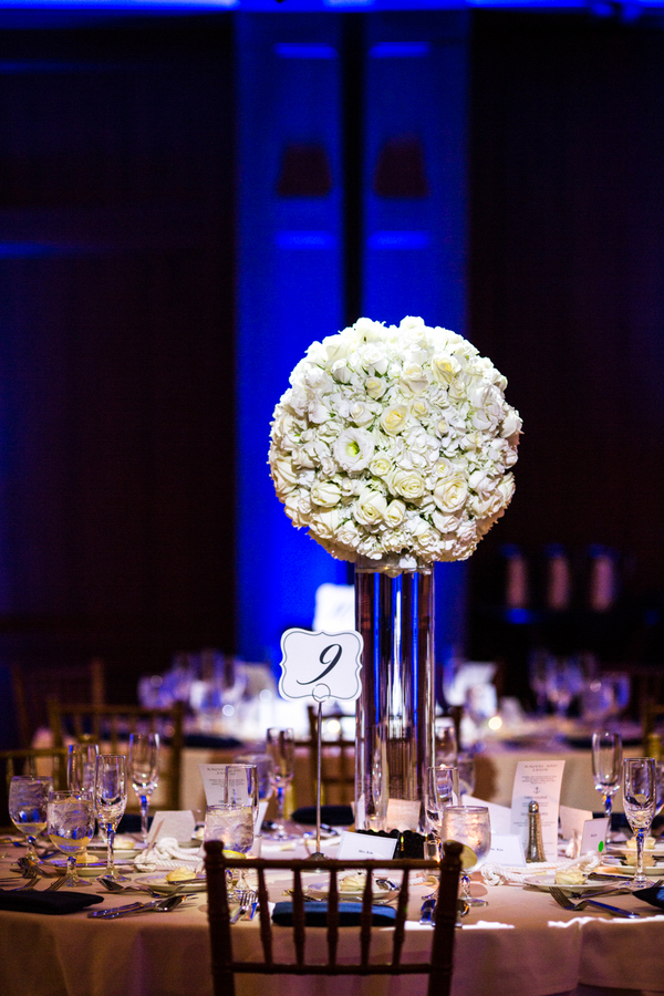 Flowers & Decor, Real Weddings, Wedding Style, Centerpieces, Summer Weddings, West Coast Real Weddings, Summer Real Weddings, Modern Wedding Flowers & Decor, Nautical Weddings, Nautical Real Weddings