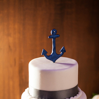 Cakes, Real Weddings, Wedding Style, blue, Wedding Cakes, Cake Toppers, Summer Weddings, West Coast Real Weddings, Summer Real Weddings, Nautical Weddings, Nautical Real Weddings