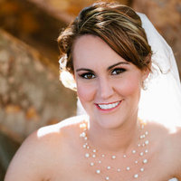 Beauty, Jewelry, Real Weddings, Wedding Style, Necklaces, Makeup, Southern Real Weddings, Summer Weddings, Summer Real Weddings