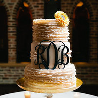 Cakes, Real Weddings, Wedding Style, yellow, Summer Wedding Cakes, Wedding Cakes, Southern Real Weddings, Summer Weddings, Summer Real Weddings