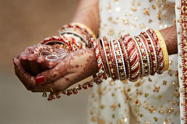 Jewelry, Real Weddings, Wedding Style, red, Bracelets, West Coast Real Weddings, cultural real weddings, cultural weddings, indian real weddings, indian weddings