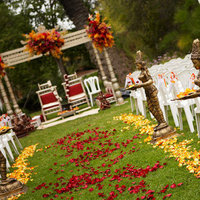 Flowers & Decor, Real Weddings, Wedding Style, Ceremony Flowers, West Coast Real Weddings, cultural real weddings, cultural weddings, indian real weddings, indian weddings, cultural wedding flowers & decor