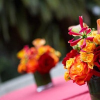 Flowers & Decor, Real Weddings, Wedding Style, orange, red, Centerpieces, Fall Weddings, West Coast Real Weddings, Fall Real Weddings, Fall Wedding Flowers & Decor, cultural real weddings, cultural weddings, indian real weddings, indian weddings