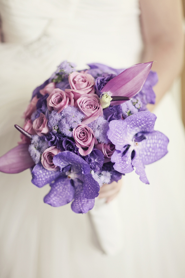 Flowers & Decor, Destinations, Real Weddings, Wedding Style, purple, Destination Weddings, Europe, Bride Bouquets, Spring Weddings, Classic Real Weddings, Spring Real Weddings, Classic Weddings, Classic Wedding Flowers & Decor, Spring Wedding Flowers & Decor