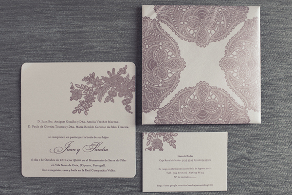 Stationery, Destinations, Real Weddings, Wedding Style, white, ivory, purple, Destination Weddings, Europe, Classic Wedding Invitations, Glam Wedding Invitations, Spring Weddings, Classic Real Weddings, Spring Real Weddings, Classic Weddings