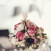 Flowers & Decor, Stationery, Destinations, Real Weddings, Wedding Style, pink, Destination Weddings, Europe, Centerpieces, Candles, Table Numbers, Spring Weddings, Classic Real Weddings, Spring Real Weddings, Classic Weddings, Classic Wedding Flowers & Decor, Spring Wedding Flowers & Decor