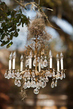 Flowers & Decor, Real Weddings, Wedding Style, brown, Southern Real Weddings, Winter Weddings, Winter Real Weddings, Vintage Wedding Flowers & Decor, Chandeliers