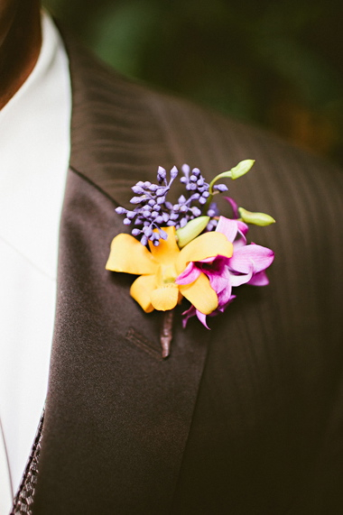 Flowers & Decor, Destinations, Real Weddings, Wedding Style, yellow, pink, Destination Weddings, Mexico, Boutonnieres, Beach Real Weddings, Summer Weddings, Summer Real Weddings, Beach Weddings, Beach Wedding Flowers & Decor, Summer Wedding Flowers & Decor
