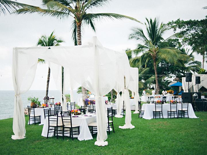Flowers & Decor, Destinations, Real Weddings, Wedding Style, white, Destination Weddings, Mexico, Tables & Seating, Beach Real Weddings, Summer Weddings, Summer Real Weddings, Beach Weddings, Beach Wedding Flowers & Decor