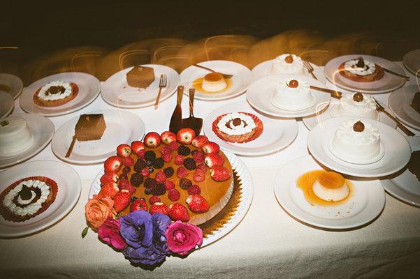 Cakes, Destinations, Real Weddings, Wedding Style, white, orange, gold, Destination Weddings, Mexico, Beach Wedding Cakes, Other Wedding Desserts, Wedding Cakes, Beach Real Weddings, Summer Weddings, Summer Real Weddings, Beach Weddings