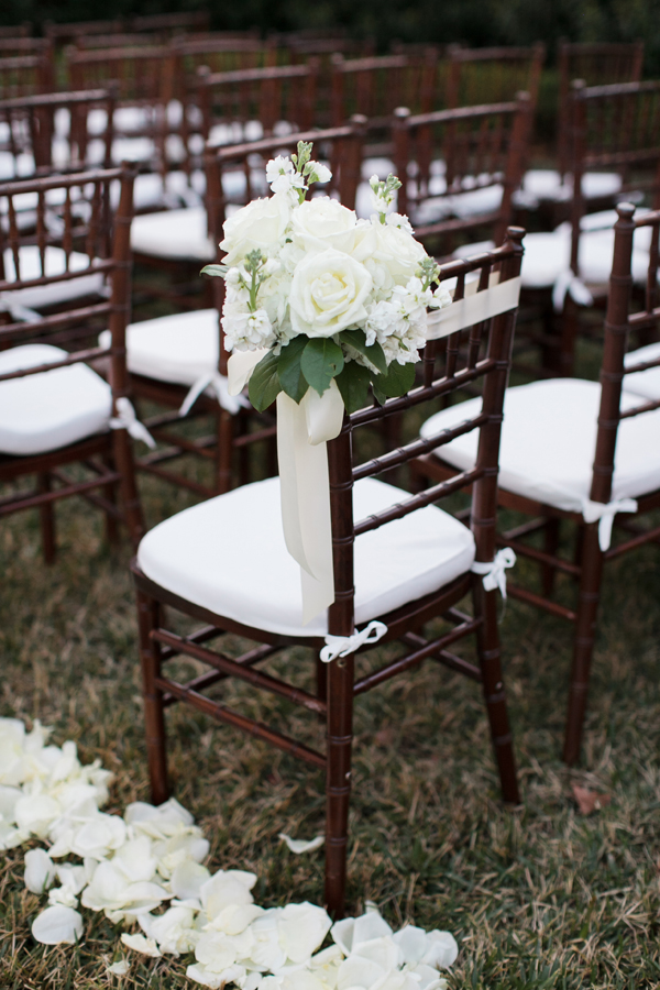 Flowers & Decor, Real Weddings, Wedding Style, Ceremony Flowers, Fall Weddings, Southern Real Weddings, Classic Real Weddings, Fall Real Weddings, Classic Weddings, Garden Weddings, Classic Wedding Flowers & Decor, Southern weddings