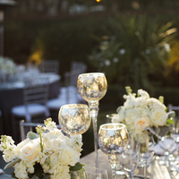 Flowers & Decor, Real Weddings, Wedding Style, ivory, Centerpieces, Fall Weddings, Southern Real Weddings, Classic Real Weddings, Fall Real Weddings, Classic Weddings, Garden Weddings, Classic Wedding Flowers & Decor, Metallic, Southern weddings