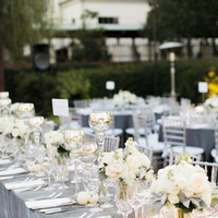 Flowers & Decor, Real Weddings, Wedding Style, ivory, silver, Centerpieces, Fall Weddings, Southern Real Weddings, Classic Real Weddings, Fall Real Weddings, Classic Weddings, Garden Weddings, Classic Wedding Flowers & Decor, Colors, Southern weddings