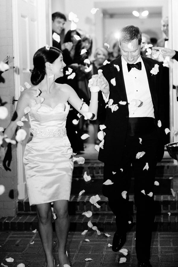 Real Weddings, Wedding Style, Fall Weddings, Southern Real Weddings, Classic Real Weddings, Fall Real Weddings, Classic Weddings, Garden Weddings, Tuxedo, Confetti, Send-off, Southern weddings, Short Wedding Dresses