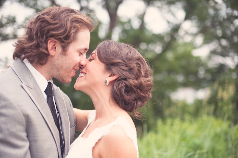 Beauty, Real Weddings, Wedding Style, Chignon, Updo, Winter Weddings, Midwest Real Weddings, Vintage Real Weddings, Winter Real Weddings, Vintage Weddings