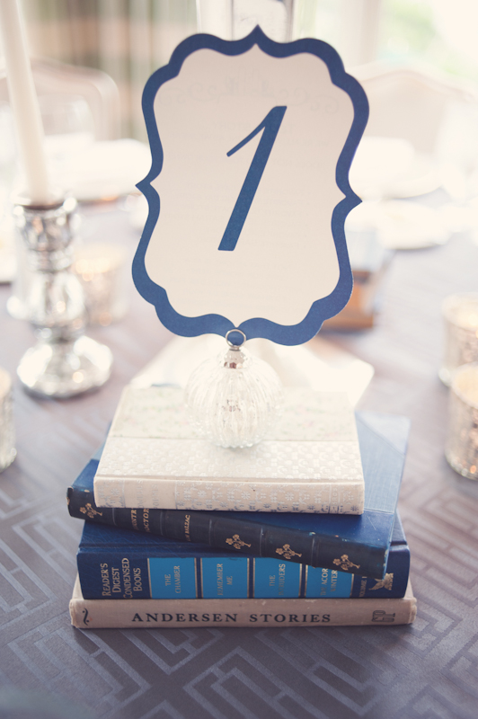 Stationery, Real Weddings, Wedding Style, blue, Table Numbers, Winter Weddings, Midwest Real Weddings, Vintage Real Weddings, Winter Real Weddings, Vintage Weddings