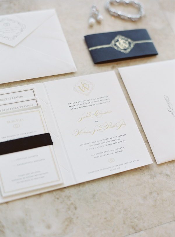 Destinations, Real Weddings, Stationery, Wedding Style, gold, Invitations, Navy, Colors, Classic Wedding Invitations, Destination Weddings, Summer Real Weddings, Classic Real Weddings, Classic Weddings, Romantic Real Weddings, Romantic Weddings