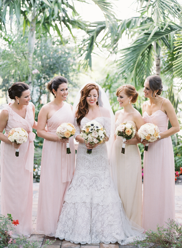 Bridesmaids Dresses, Lace Wedding Dresses, Destinations, Fashion, Real Weddings, Wedding Style, pink, Destination Weddings, Classic Real Weddings, Summer Real Weddings, Classic Weddings, Colors, Romantic Real Weddings, Romantic Weddings