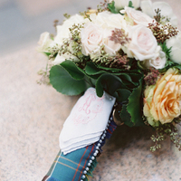 Flowers & Decor, Destinations, Real Weddings, Wedding Style, ivory, Destination Weddings, Bride Bouquets, Classic Real Weddings, Summer Real Weddings, Classic Weddings, Classic Wedding Flowers & Decor, Peach, Colors, Plaid, Romantic Real Weddings, Romantic Weddings