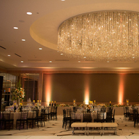 Reception, Destinations, Real Weddings, Wedding Style, Destination Weddings, Lighting, Classic Real Weddings, Summer Real Weddings, Classic Weddings, Classic Wedding Flowers & Decor, Glam Wedding Flowers & Decor, Chandelier, Ballroom, Romantic Real Weddings, Romantic Weddings