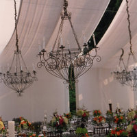 Flowers & Decor, Real Weddings, Wedding Style, Tables & Seating, Fall Weddings, Southern Real Weddings, Fall Real Weddings, Fall Wedding Flowers & Decor, Chandeliers