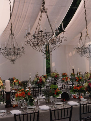 Flowers & Decor, Real Weddings, Wedding Style, Tables & Seating, Fall Weddings, Southern Real Weddings, Fall Real Weddings, Fall Wedding Flowers & Decor, Chandeliers
