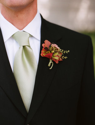Real Weddings, Wedding Style, red, Boutonnieres, Fall Weddings, West Coast Real Weddings, Fall Real Weddings, Rustic Weddings, Vineyard Weddings, Classic Wedding Flowers & Decor, Fall Wedding Flowers & Decor, Rustic Wedding Flowers & Decor, Vineyard Wedding Flowers & Decor