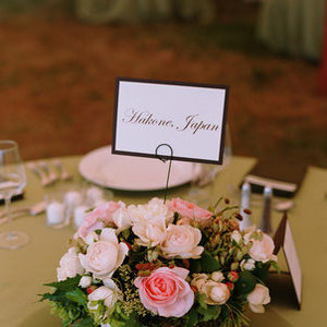 Flowers & Decor, Stationery, Real Weddings, Wedding Style, pink, Centerpieces, Table Numbers, Fall Weddings, West Coast Real Weddings, Fall Real Weddings, Rustic Weddings, Classic Wedding Flowers & Decor, Rustic Wedding Flowers & Decor