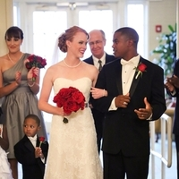 Ceremony, Real Weddings, Wedding Style, red, Fall Weddings, Northeast Real Weddings, Classic Real Weddings, Fall Real Weddings, Classic Weddings, Crimson